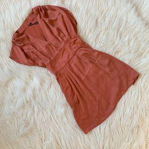 Burnt orange O'Neill dress with pockets! Sz.M